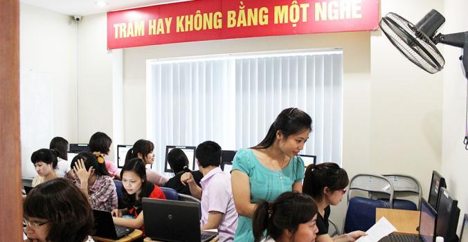 Khóa học kế toán máy thực hành phần mềm Misa, Fast