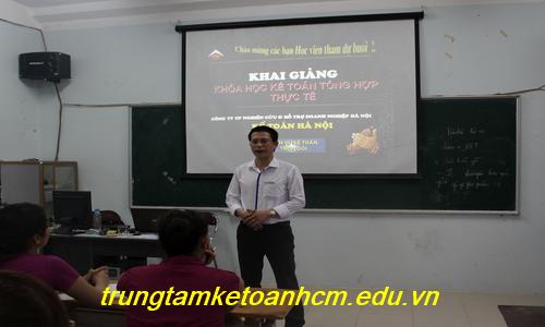 Trung tâm học kế toán tổng hợp ngắn hạn tại Ninh Bình