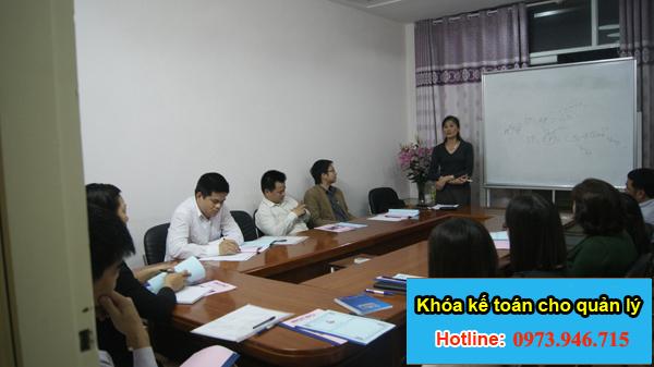 Khóa học kế toán giám đốc quản lý doanh nghiệp