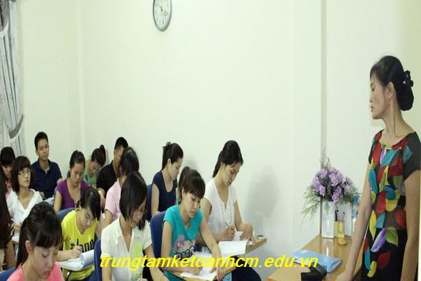 Trung tâm học kế toán tổng hợp thực hành tại Bắc Giang